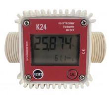 Лічильник витрати палива цифровий турбінного типу SLK24