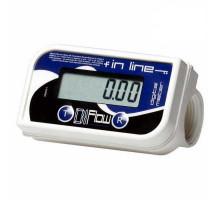 Счетчик для жидкости IN LINE пищевой 150 л/мин