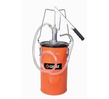 Нагнетатель масла ручной с емкостью OLP-12